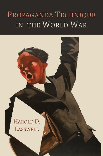 Propaganda Technique in the World War  0 edition cover