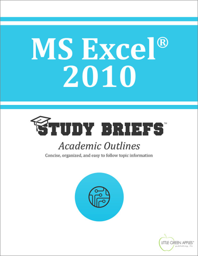 MS Excel 2010 cover