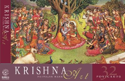 Krishna Art Postcard Book  N/A 9781932771060 Front Cover