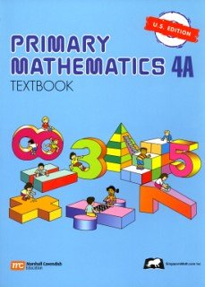 Primary Mathematics 4a Textbook  N/A edition cover