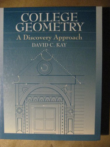 College Geometry A Discovery Approach  1994 edition cover
