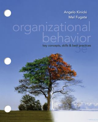 Organizational Behavior Key Concepts, Skills and Best Practices 5th 2012 edition cover