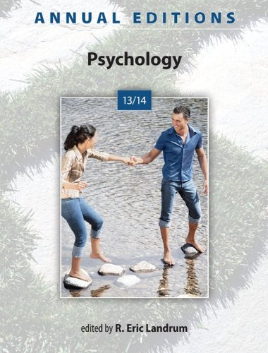 Annual Editions: Psychology 13/14  44th 2014 edition cover