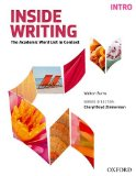 Inside Writing The Academic Word List in Context 2nd 2014 (Student Manual, Study Guide, etc.) edition cover