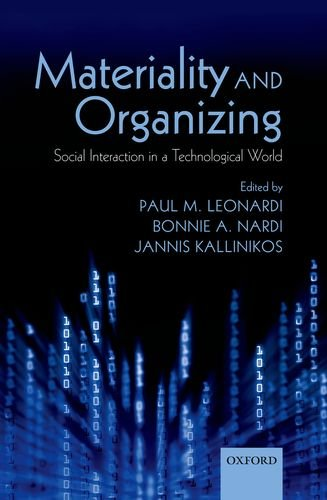 Materiality and Organizing Social Interaction in a Technological World  2012 9780199664061 Front Cover