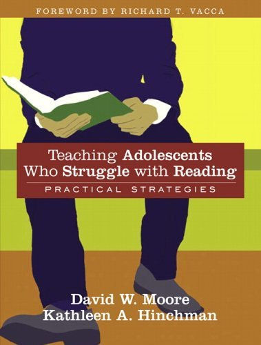 Teaching Adolescents Who Struggle with Reading Practical Strategies 2nd 2006 9780205466061 Front Cover