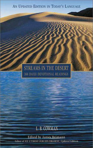 Streams in the Desert 366 Daily Devotional Readings 2nd 1997 (Revised) edition cover