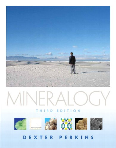 Mineralogy  3rd 2011 edition cover