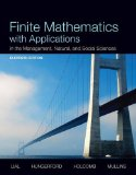 Finite Mathematics With Applications in the Management, Natural, and Social Sciences:   2013 edition cover