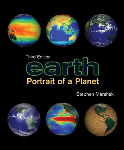 Earth Portrait of a Planet with Geotours Workbook 3rd 2007 edition cover