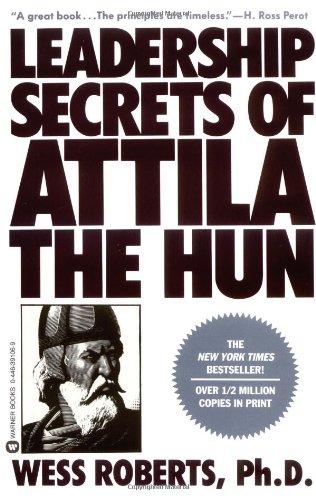 Leadership Secrets of Attila the Hun   1987 edition cover