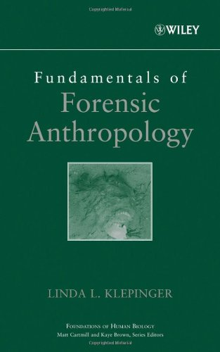 Fundamentals of Forensic Anthropology   2006 edition cover