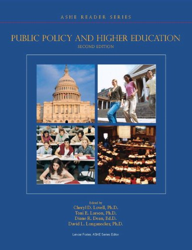 Public Policy and Higher Education  2nd 2010 edition cover
