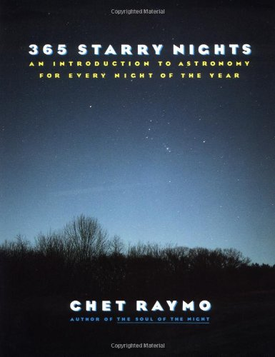 Three Hundred and Sixty Five Starry Nights An Introduction to Astronomy for Every Night of the Year  1990 edition cover