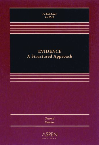 Evidence Structured Approach 2e 2nd 2007 (Revised) edition cover