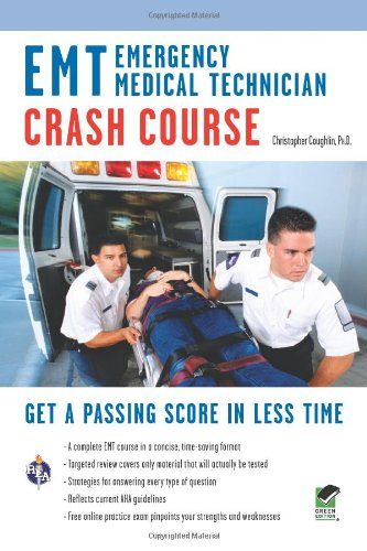 EMT Crash Course - (Emergency Medical Technician)  N/A 9780738610061 Front Cover