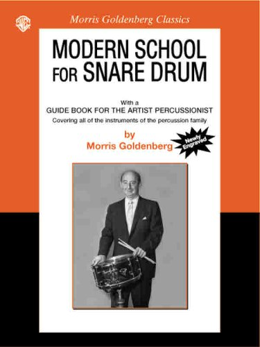 Modern School for Snare Drum   2002 edition cover