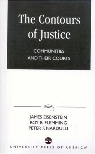 Contours of Justice Communities and Their Courts Reprint edition cover