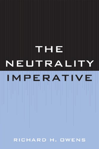 Neutrality Imperative   2009 edition cover