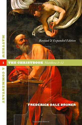 Matthew The Christbook, Matthew 1-12 N/A edition cover