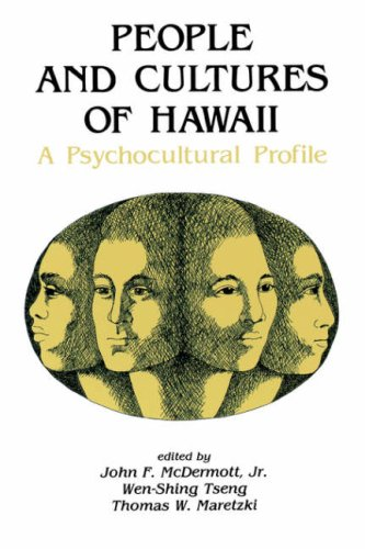 People and Cultures of Hawaii A Psychocultural Profile  1980 edition cover