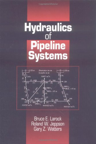 Hydraulics of Pipeline Systems   1999 9780849318061 Front Cover
