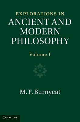 Explorations in Ancient and Modern Philosophy 2 Volume Hardback Set   2012 9781107400061 Front Cover