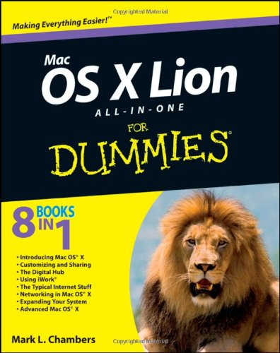 Mac OS X Lion All-In-One for Dummies   2011 9781118022061 Front Cover