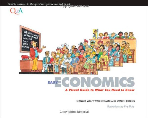 Easy Economics A Visual Guide to What You Need to Know  2012 edition cover