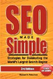 SEO Made Simple (Third Edition) Strategies for Dominating the World's Largest Search Engine 3rd 2013 edition cover