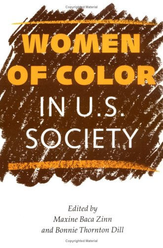 Women of Color in U. S. Society  N/A edition cover