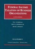 Federal Income Taxation of Business Organizations, 4th, 2012 Supplement  4th 2012 (Revised) edition cover