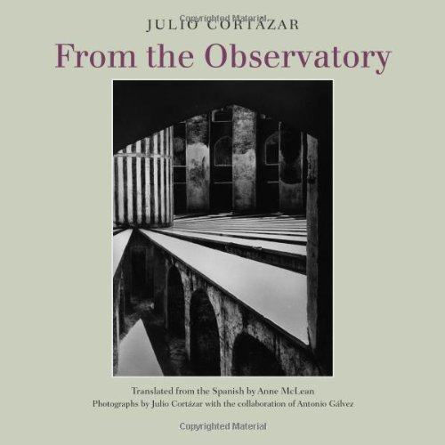 From the Observatory   2011 9781935744061 Front Cover