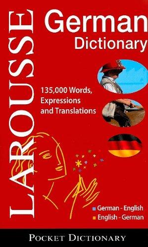 Larousse Pocket Dictionary : German-English / English-German   2009 edition cover