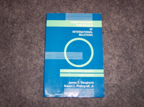 Contending Theories of International Relations A Comprehensive Survey 3rd 1990 9780060417062 Front Cover