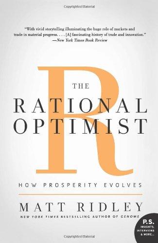 Rational Optimist How Prosperity Evolves N/A edition cover