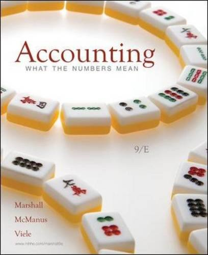 Accounting What the Numbers Mean 9th 2011 edition cover
