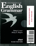 Fundamentals of English Grammar  4th 2013 9780133438062 Front Cover