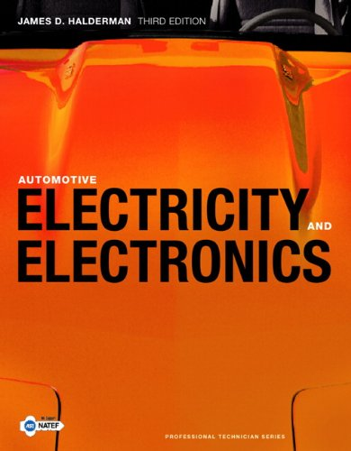 Automotive Electricity and Electronics  3rd 2011 edition cover