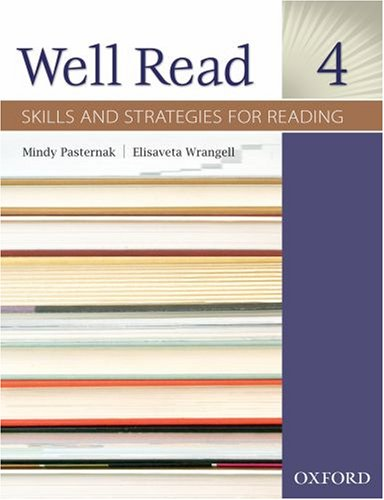 Well Read - Skills and Strategies for Reading, Level 4   2008 (Student Manual, Study Guide, etc.) edition cover