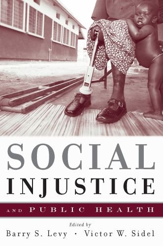 Social Injustice and Public Health   2009 edition cover