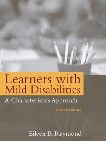 Learners with Mild Disabilities A Characteristics Approach 2nd 2004 (Revised) edition cover