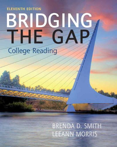 Bridging the Gap  11th 2014 9780205852062 Front Cover