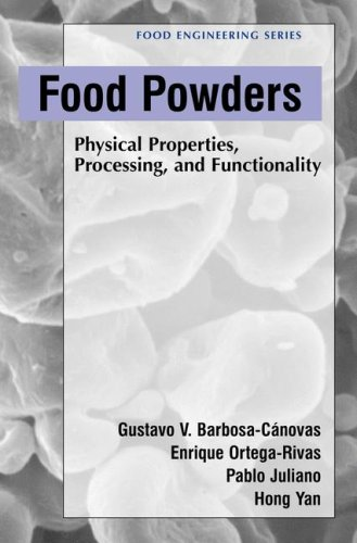 Food Powders Physical Properties, Processing, and Functionality  2005 9780306478062 Front Cover