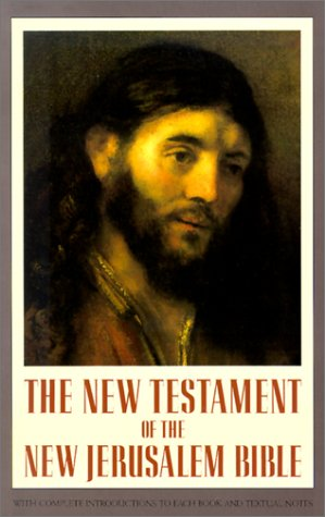 New Testament of the New Jerusalem Bible  N/A edition cover