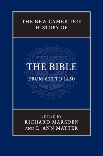 New Cambridge History of the Bible from 600 to 1450   2012 9780521860062 Front Cover
