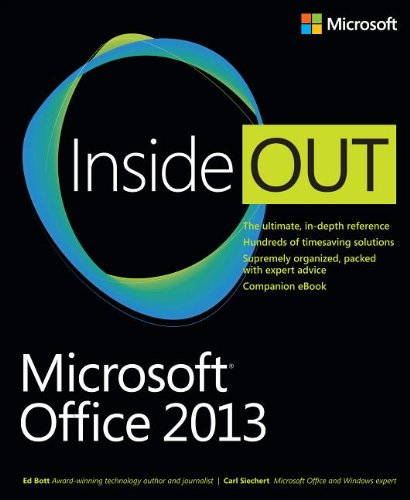 Microsoft� Office 2013   2013 edition cover