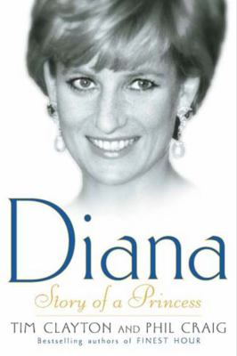 Diana Story of a Princess  2003 9780743422062 Front Cover