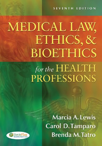 Medical Law, Ethics, and Bioethics for the Health Professions  7th 2012 (Revised) edition cover