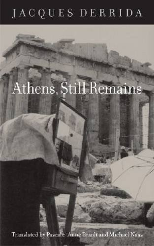 Athens, Still Remains The Photographs of Jean-Franois Bonhomme 2nd 2010 edition cover